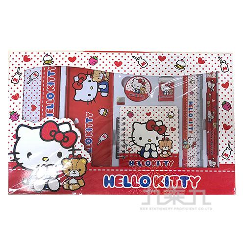 K/T kitty 7件式文具組 195775