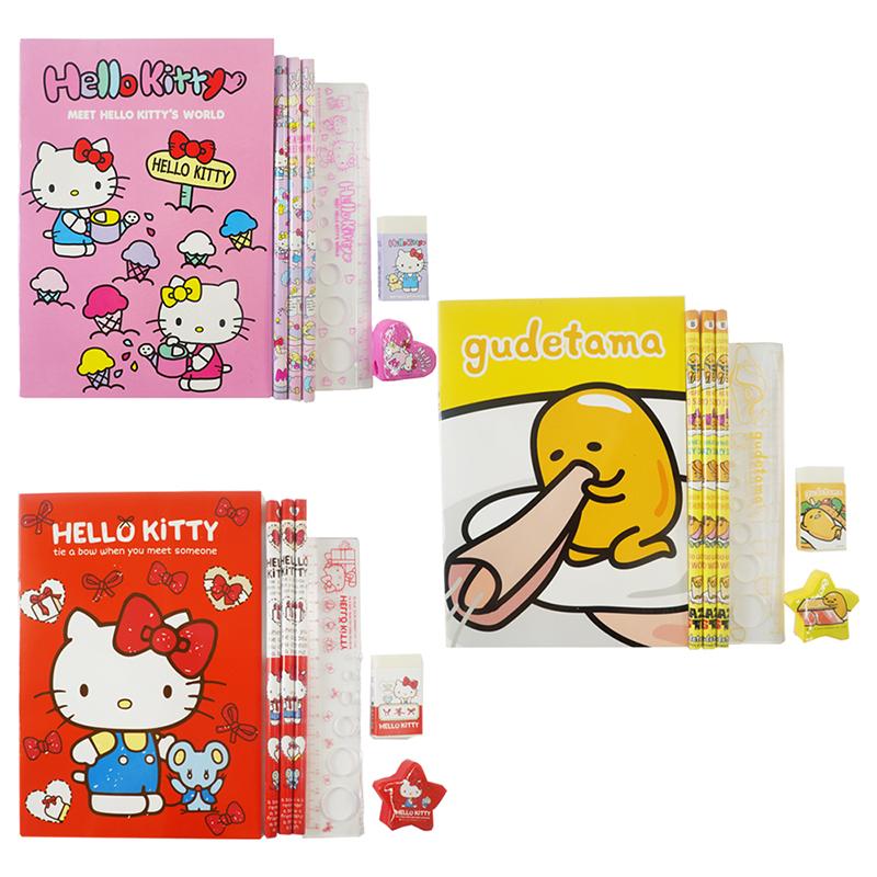 KT Kitty世界袋裝文具組 (款式隨機出貨) 021776