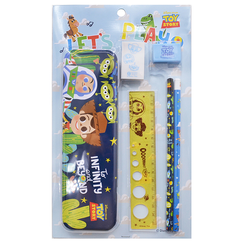 迪士尼泡殼文具組-玩具總動員