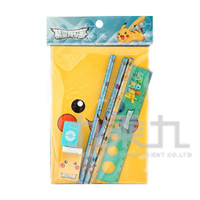 精靈寶可夢袋裝筆記文具組(2) PKWT95-2