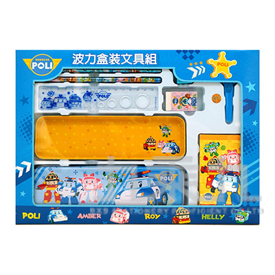 波力盒裝文具組(大)(4) POWT220-4