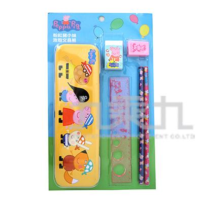 粉紅豬小妹泡殼文具組(4) PGWT120-4