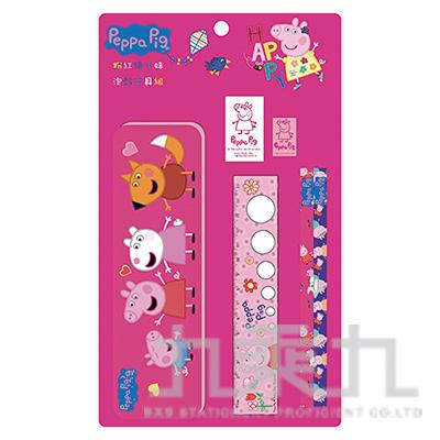 粉紅豬小妹泡殼文具組(6)PGWT120-6