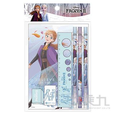 冰雪奇緣(2)袋裝筆記文具組