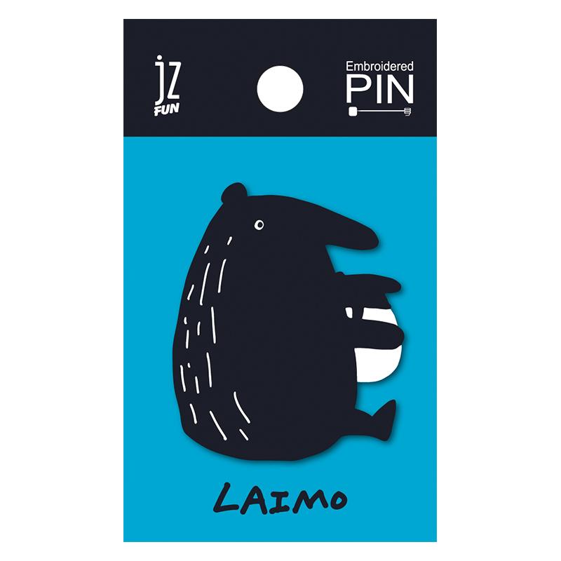 LAIMO刺繡造型別針(MIMO ALONE)