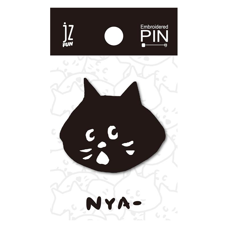 NYA刺繡造型別針(大頭)