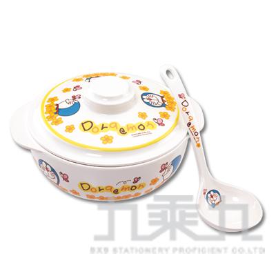 哆啦A夢鍋蓋碗+湯匙組 DE-235