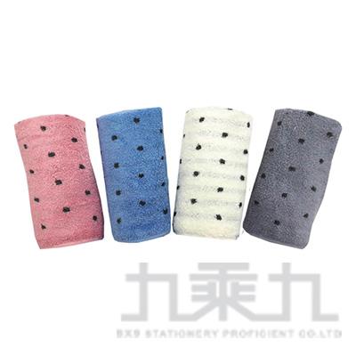 摩力諾美國棉色沙圓點方巾 MO665 (款式隨機)