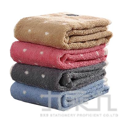 摩力諾美國棉色沙圓點毛巾 MO765 (款式隨機)