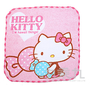 KITTY窯花小方巾-多款