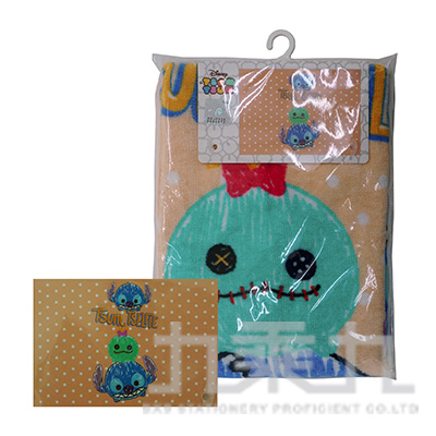 TSUM TSUM童巾-史迪奇 B001