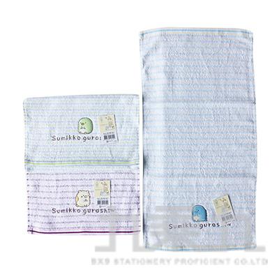 角落小夥伴純棉鏽花童巾 (款式隨機)