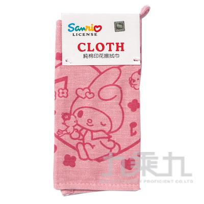 美樂蒂純棉印花擦拭巾 MM-97802