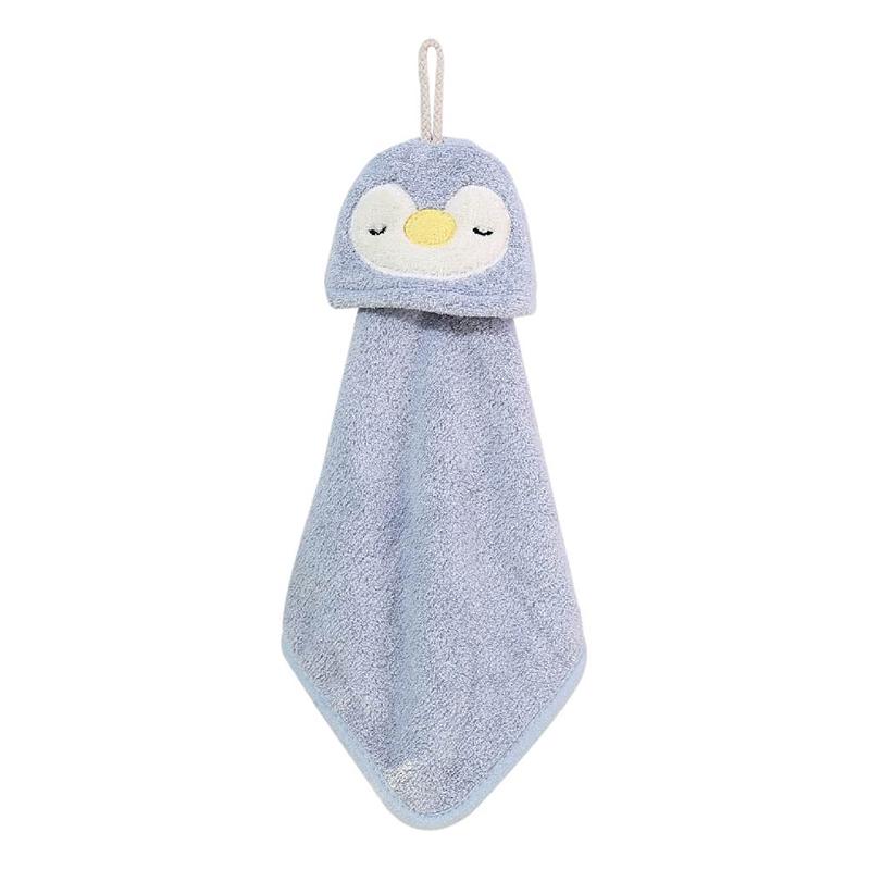 造型擦手巾(藍企鵝)-簡單生活