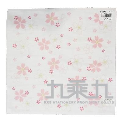 櫻花小方巾 17483 25*25cm