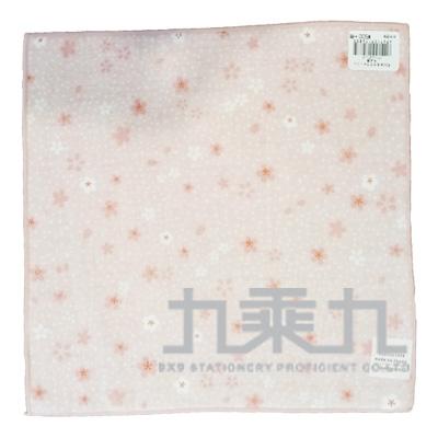 17258濱紋小方巾-櫻印象 25*25cm