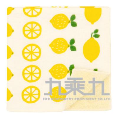17455濱紋小方巾-日本香檬 25*25cm