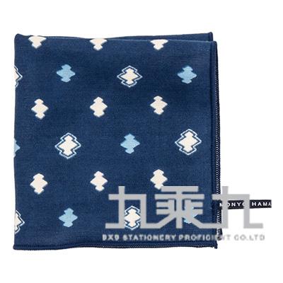 松皮菱紋小方巾17849 25*25cm