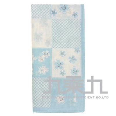 08236和物語手巾-櫻小町/藍 50*50cm