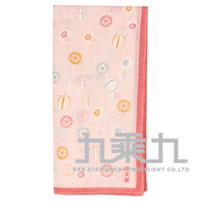 08345和物語手巾-糖果/粉 50*50cm