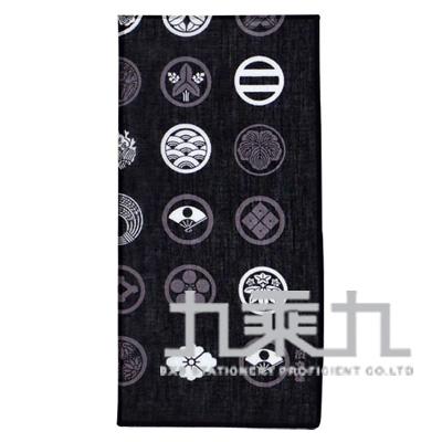 08246和物語手巾-日本紋/黑50*50cm