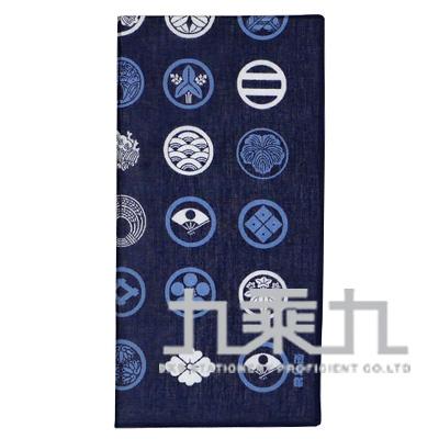 08247和物語手巾-日本紋/深藍50*50cm
