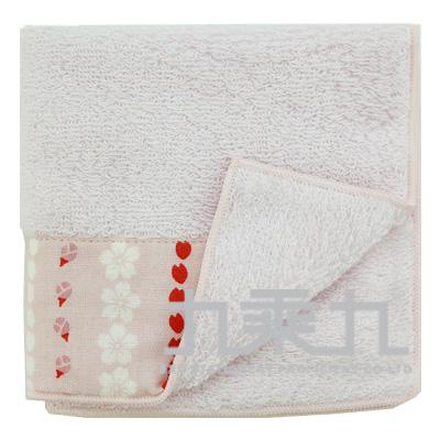 櫻花紋小方巾 17669 23*23cm