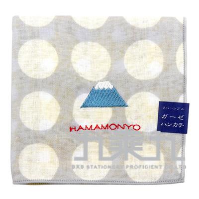 17938刺繡手帕-富士山 29*29cm