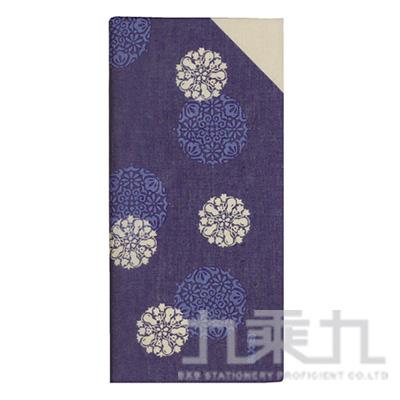 和物語手巾 夢花小紋 紫 08225