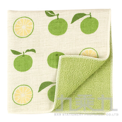 濱紋小方巾 日本香檸 17548