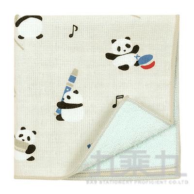 濱紋小方巾 節奏熊貓 17865