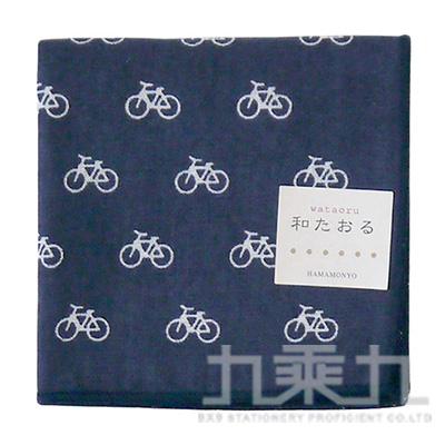 濱紋小方巾 腳踏車 17259