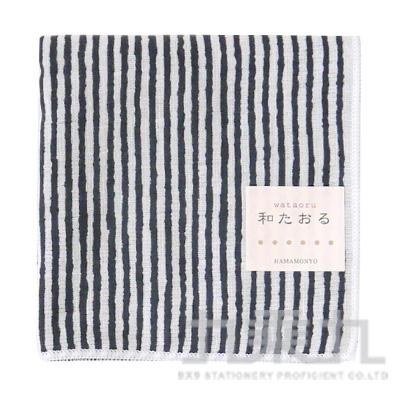 濱紋小方巾-縞文樣 17260