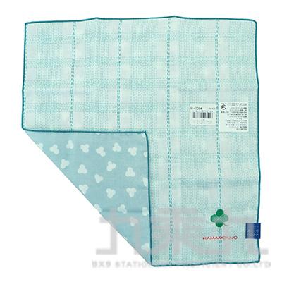 17788刺繡手帕-四葉草 29X29cm