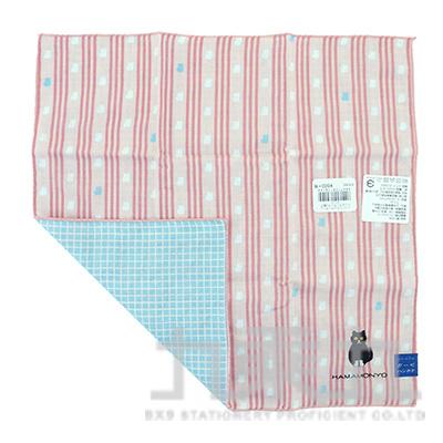 17914刺繡手帕-鞋襪貓29X29cm