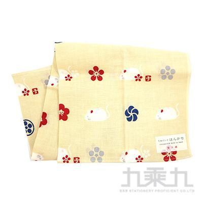 鼠年梅紋手帕-19117 34x43cm