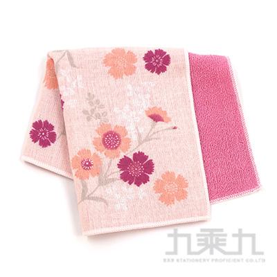 濱紋小方巾-石竹之夢(粉)17547 25x25cm