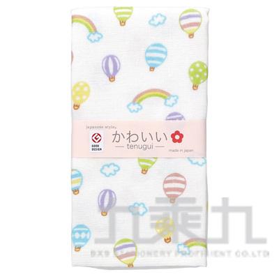 90#js kawaii毛巾-熱氣球 JK-557 161106