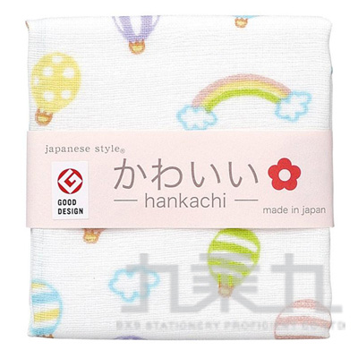 js kawaii小方巾-熱氣球 JK-3557 161107
