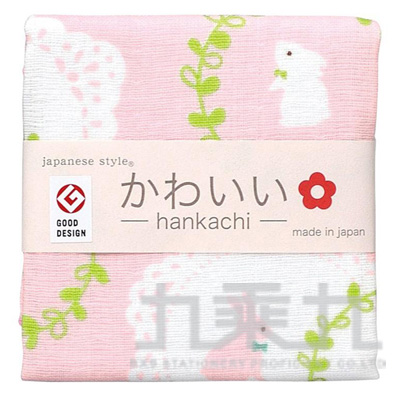 js kawaii小方巾-兔子 JK-3558 161110