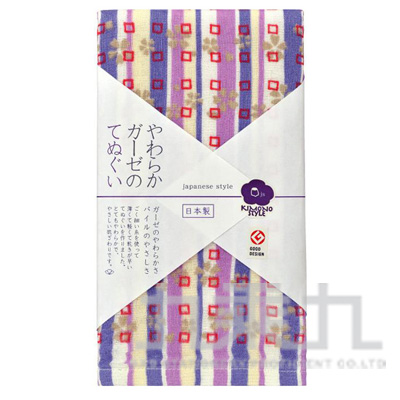 js KIMONO毛巾-雙色條櫻 JS-507 161121