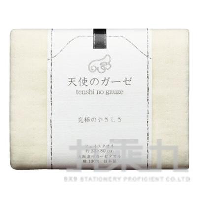 (無撚紗使用)大阪泉州毛巾-白TE-1001 121103