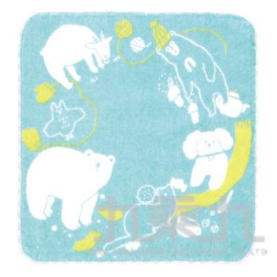 小方巾 聖誕節-藍色 MYA-516 511133