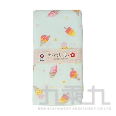 JS-5707 JS-KAWAII  冰淇淋-毛巾 34X90