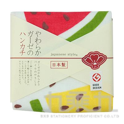 JS-35035 JS- (夏)涼夏西瓜-小方巾 34X34