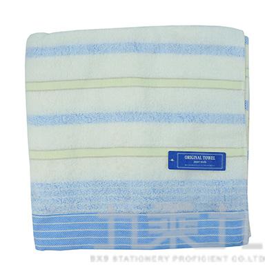 NT-608 ORIGINAL TOWEL果凍藍洗臉長毛巾 34x80