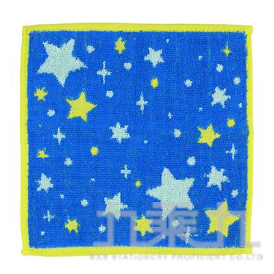 QLT66-18TROUSSEAU 新星小方巾/藍 20x20