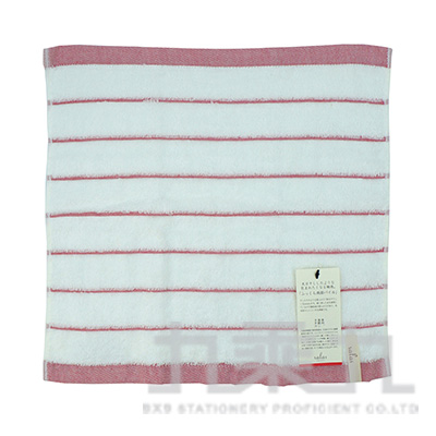 SA-509SALAS 日向洗臉毛巾-紅 34x35