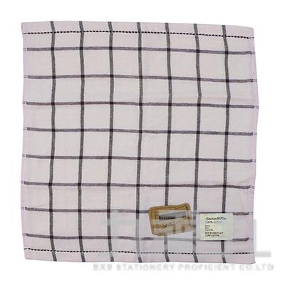 TS-2503 SKETCH 格紋小方巾/粉34x35