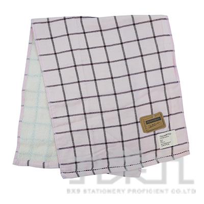 TS-4503 SKETCH 格紋毛巾/粉 34x80
